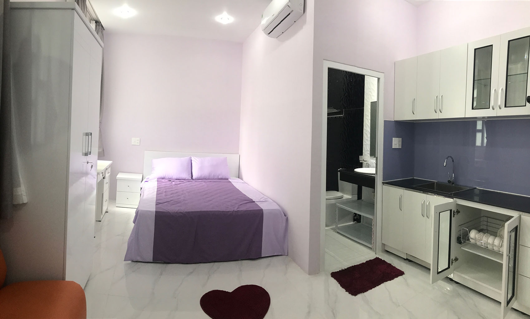 Apartment Double Bed 1301